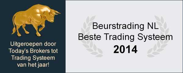 Beste Trading Systeem jaar 2014